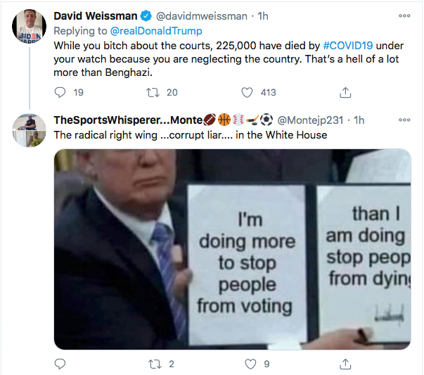 Screen-Shot-2020-10-31-at-10.09.06-AM Trump Launches Deranged Morning Tweet Attack On Obama's Blackness & NY Times Donald Trump Election 2020 Featured Politics Top Stories Twitter