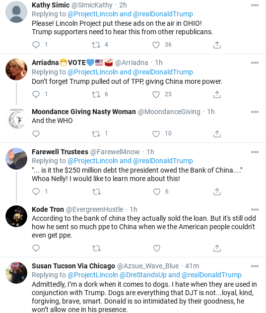 Screenshot-2020-10-13-at-12.25.15-PM 'The Lincoln Project' Shames Trump's Failed Presidency In Viral Video Donald Trump Election 2020 Politics Social Media Top Stories