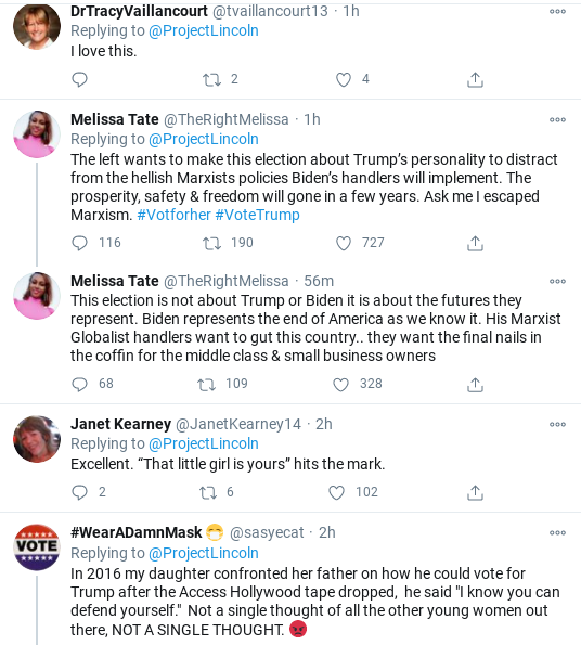 Screenshot-2020-10-16-at-10.22.33-AM 'The Lincoln Project' Strikes Again With Electric Trump Take-Down Donald Trump Election 2020 Politics Social Media Top Stories