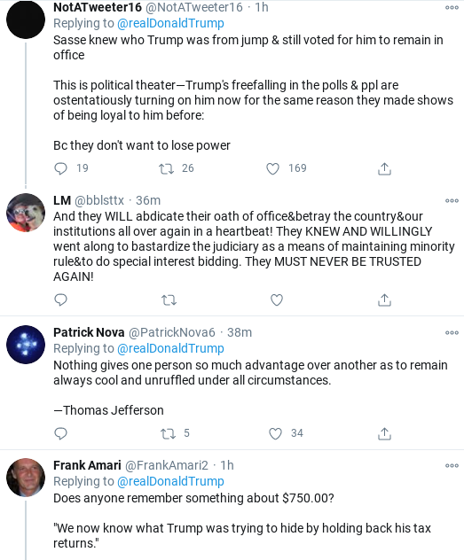Screenshot-2020-10-17-at-1.29.56-PM Trump Fires Off Multi-Tweet ALL CAPS Saturday Emotional Collapse Donald Trump Election 2020 Politics Top Stories