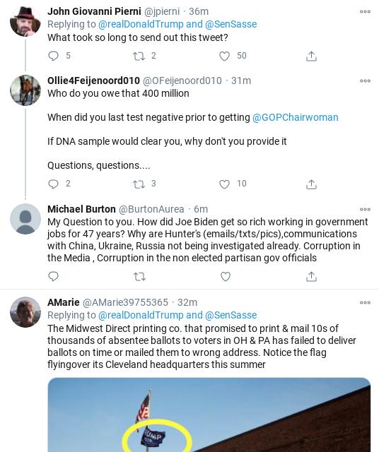 Screenshot-2020-10-17-at-10.18.50-AM Trump Rage-Tweets His Delirious Saturday Morning Panic-Attack Donald Trump Election 2020 Politics Social Media Top Stories