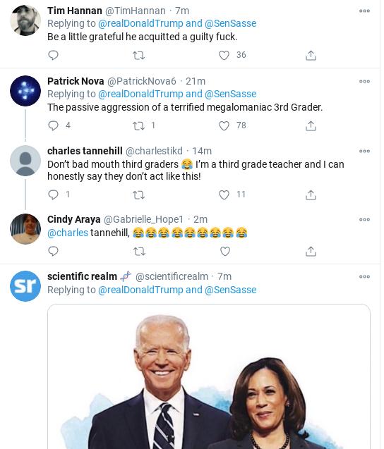 Screenshot-2020-10-17-at-10.20.11-AM Trump Rage-Tweets His Delirious Saturday Morning Panic-Attack Donald Trump Election 2020 Politics Social Media Top Stories