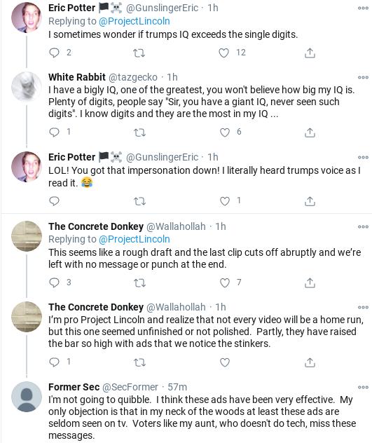 Screenshot-2020-10-17-at-4.34.55-PM 'The Lincoln Project' Strikes Again With Viral Trump Take-Down Coronavirus Donald Trump Election 2020 Politics Social Media Top Stories