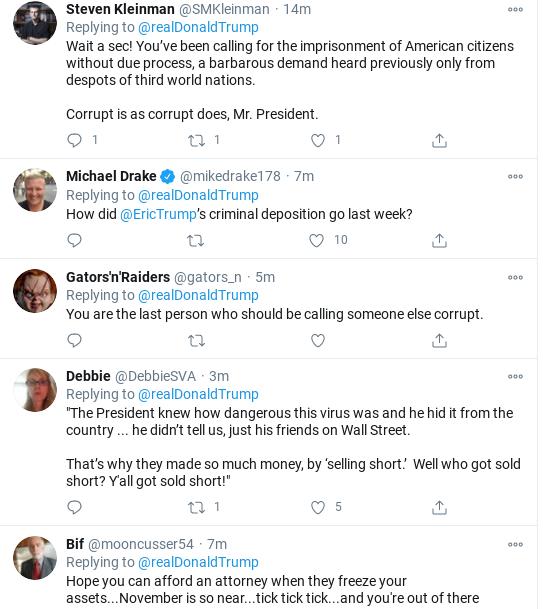 Screenshot-2020-10-18-at-3.08.26-PM Trump Announces 'Proof' Of Biden Crimes During Afternoon Tweet Storm Donald Trump Politics Social Media Top Stories