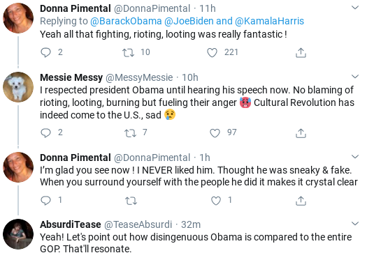 Screenshot-2020-10-21-at-10.09.32-AM Obama Issues Intense Rallying-Cry To Defeat Trump & Save America Donald Trump Politics Social Media Top Stories
