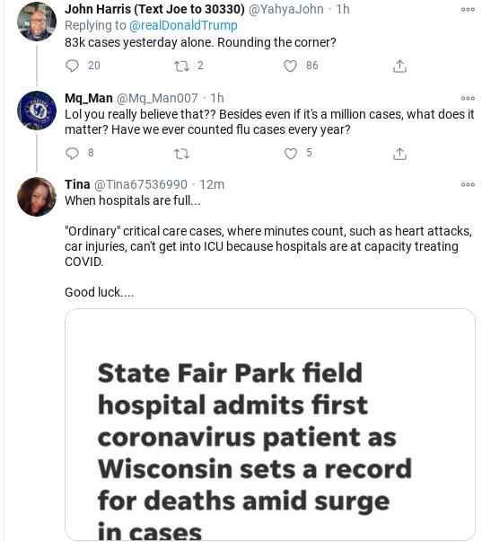 Screenshot-2020-10-24-at-12.13.06-PM Trump Rage Tweets Insecure Saturday Meltdown After COVID Data Released Coronavirus Donald Trump Politics Social Media Top Stories