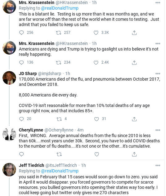 Screenshot-2020-10-24-at-12.13.37-PM Trump Rage Tweets Insecure Saturday Meltdown After COVID Data Released Coronavirus Donald Trump Politics Social Media Top Stories