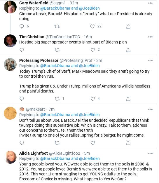 Screenshot-2020-10-25-at-3.36.48-PM Obama Shames Trump & Cheers Biden During Sunday Message Of Hope Coronavirus Donald Trump Politics Social Media Top Stories