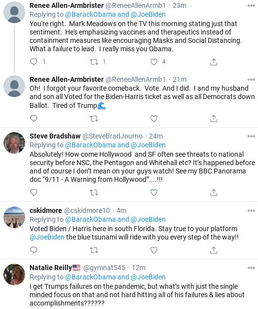 Screenshot-2020-10-25-at-3.37.51-PM Obama Shames Trump & Cheers Biden During Sunday Message Of Hope Coronavirus Donald Trump Politics Social Media Top Stories