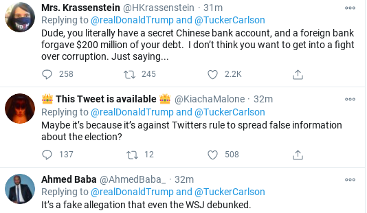 Screenshot-2020-10-28-at-11.55.56-AM Trump Sees Facebook/Twitter Hearing & Erupts Into Delirious Rage Corruption Donald Trump Election 2020 Politics Social Media Top Stories
