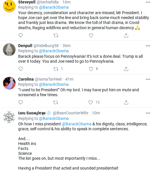 Screenshot-2020-10-31-at-12.27.55-PM Obama Issues Saturday Call To Action For Americans To Defeat Trump Donald Trump Politics Social Media Top Stories