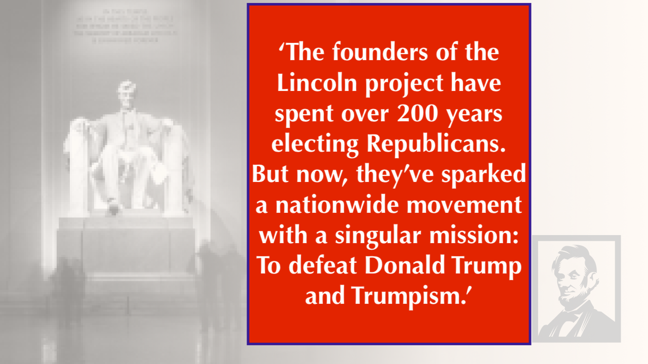 The-founders-of-the 'The Lincoln Project' Goes After Battleground Votes With Wednesday Video Economy Featured Human Rights Politics Top Stories