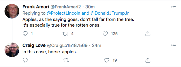Screen-Shot-2020-11-01-at-12.31.52-PM 'The Lincoln Project' Trolls Trump Jr. Over Alleged Drug Abuse In Sunday Video Donald Trump Election 2020 Featured Politics Top Stories Videos