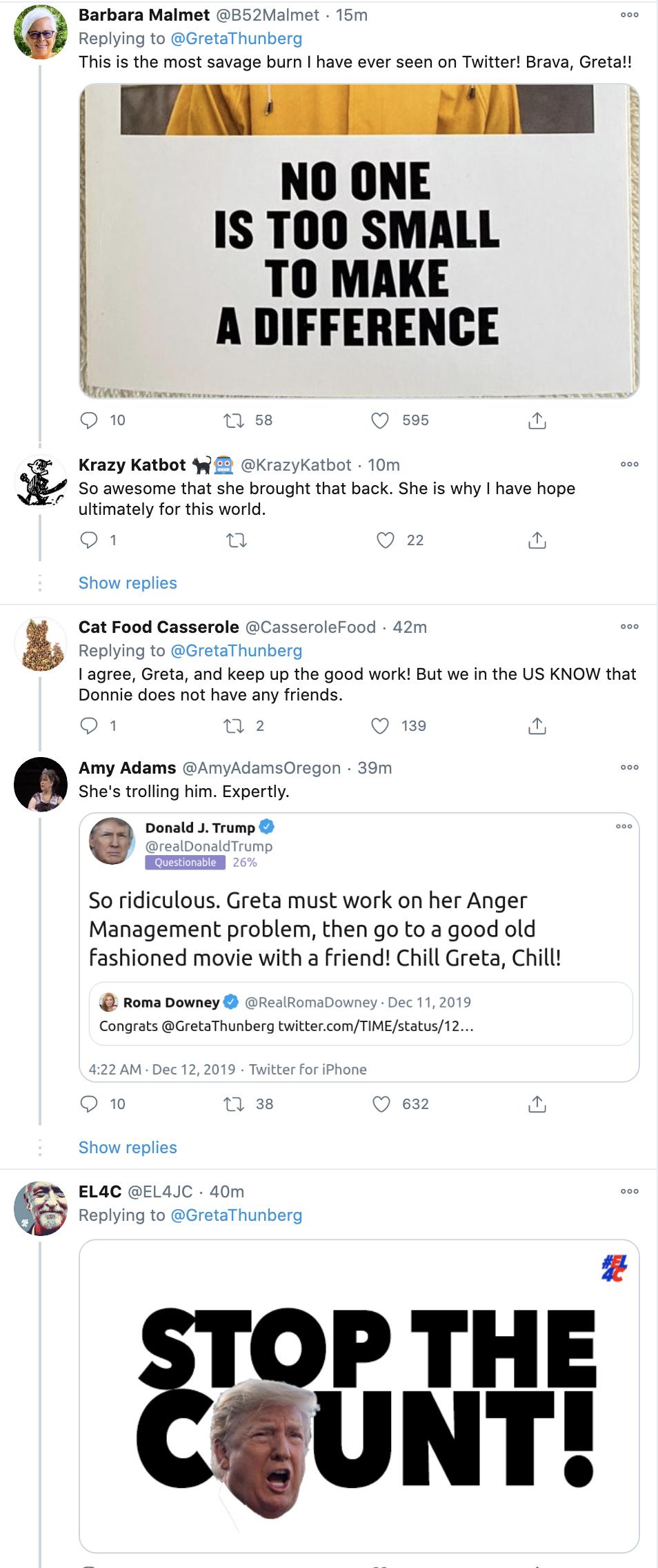Screen-Shot-2020-11-05-at-2.38.39-PM Greta Thunberg Trolls Trump Like A Boss: 'Chill Donald, Chill' Activism Environment Featured Politics Top Stories