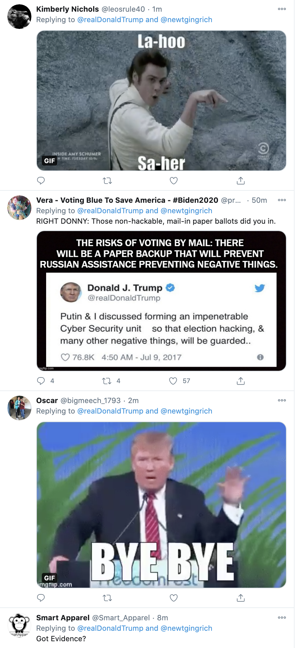 Screen-Shot-2020-11-08-at-12.47.14-PM Trump Has Afternoon Conniption Fit After Sunday Shows Mock Him Election 2020 Featured Mental Illness Politics Top Stories