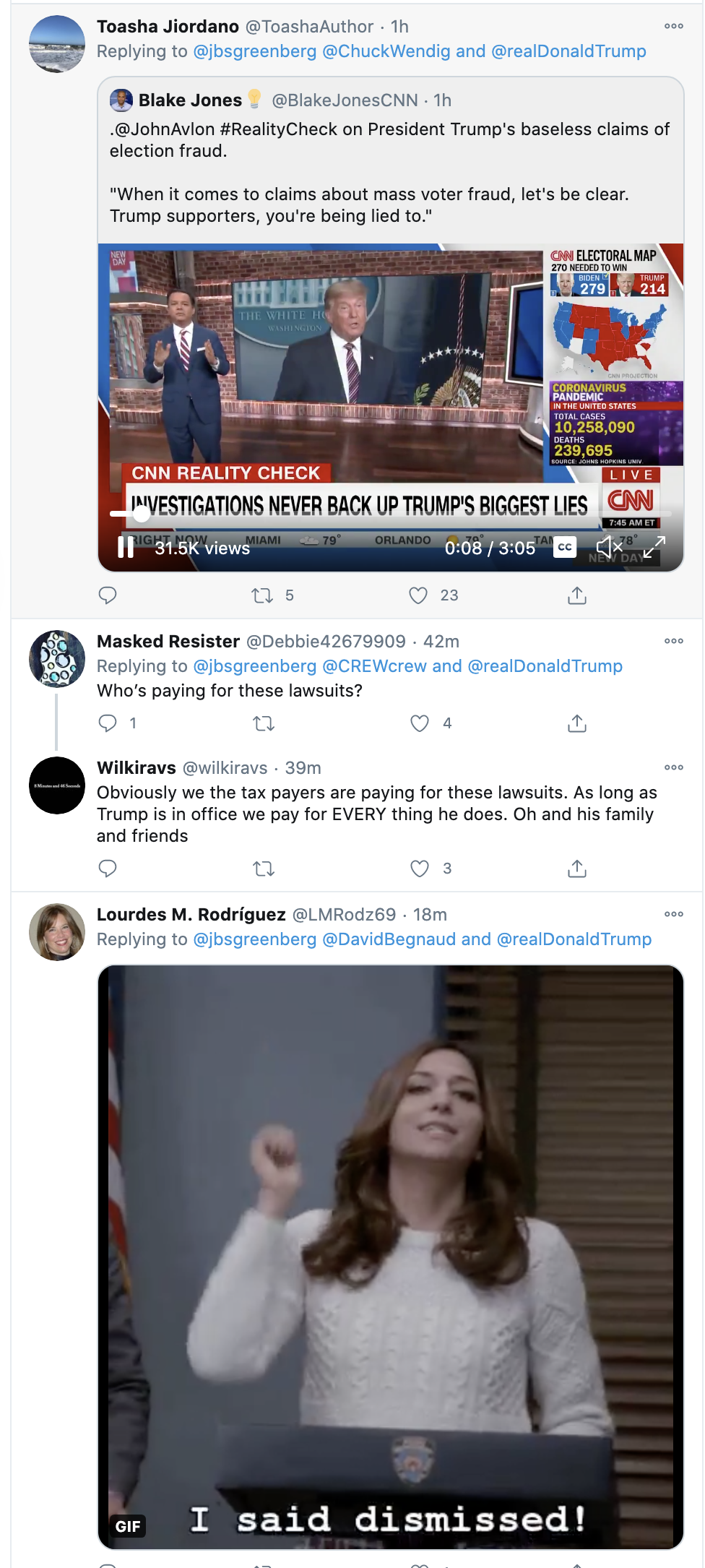 Screen-Shot-2020-11-11-at-8.22.10-AM Pennsylvania Judge Embarrasses Trump Lawyer Over Pathetic Evidence Featured Media National Security Politics Top Stories