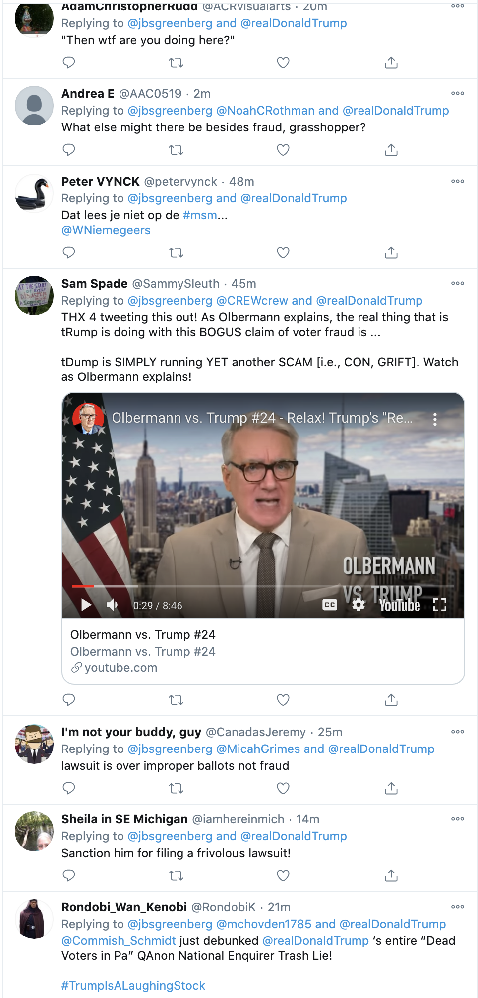 Screen-Shot-2020-11-11-at-8.23.36-AM Pennsylvania Judge Embarrasses Trump Lawyer Over Pathetic Evidence Featured Media National Security Politics Top Stories