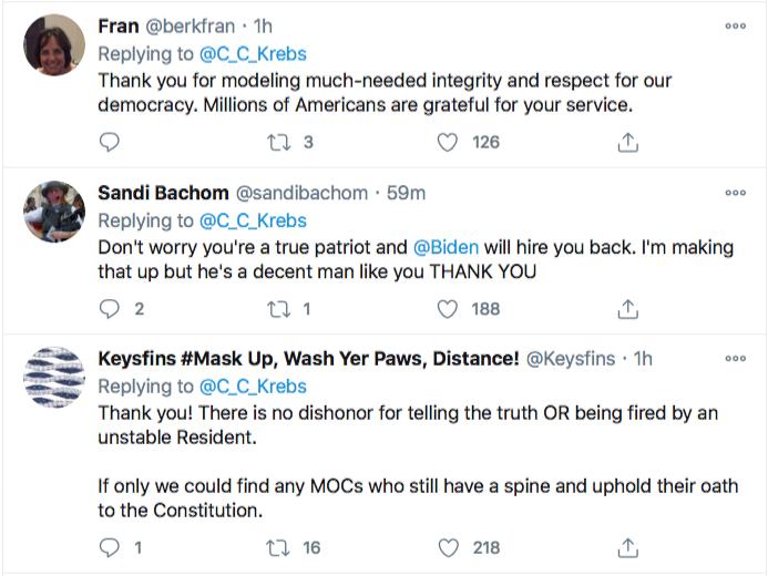Screen-Shot-2020-11-17-at-9.09.48-PM Chris Krebs Rebuffs Trump's Firing Like A U.S. Patriot Conspiracy Theory Donald Trump Election 2020 Featured Politics Top Stories Twitter