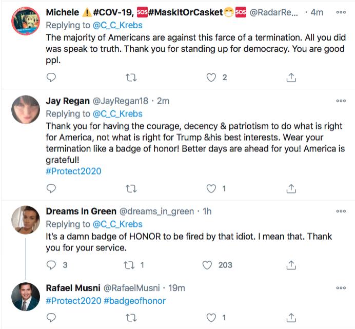 Screen-Shot-2020-11-17-at-9.10.41-PM Chris Krebs Rebuffs Trump's Firing Like A U.S. Patriot Conspiracy Theory Donald Trump Election 2020 Featured Politics Top Stories Twitter