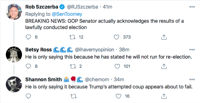 Screen-Shot-2020-11-21-at-10.14.29-PM Top GOP Senator Publicly Abandons Trump After PA Court Loss Conspiracy Theory Donald Trump Election 2020 Featured Politics Top Stories Twitter