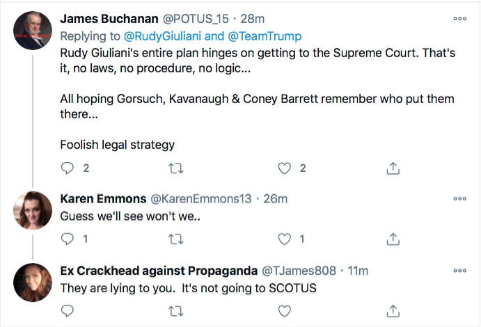 Screen-Shot-2020-11-21-at-9.40.24-PM Trump Campaign Has Embarrassing Post PA Court Loss Meltdown Conspiracy Theory Donald Trump Election 2020 Featured Politics Top Stories