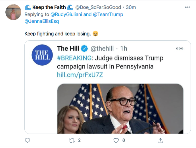 Screen-Shot-2020-11-21-at-9.40.36-PM Trump Campaign Has Embarrassing Post PA Court Loss Meltdown Conspiracy Theory Donald Trump Election 2020 Featured Politics Top Stories