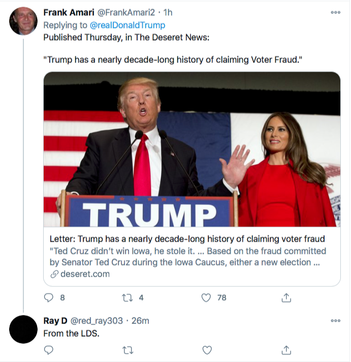Screen-Shot-2020-11-21-at-9.40.53-AM Trump Has Saturday Morning Hissy-Fit After Seeing Latest Court Losses Conspiracy Theory Donald Trump Election 2020 Featured Politics Top Stories Twitter