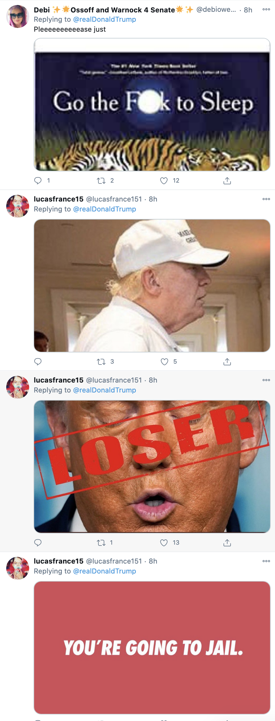 Screen-Shot-2020-11-23-at-8.38.04-AM Trump Tweets Delusional Voter Fraud Nonsense Like A Scared Old Man Crime Donald Trump Featured Politics Top Stories