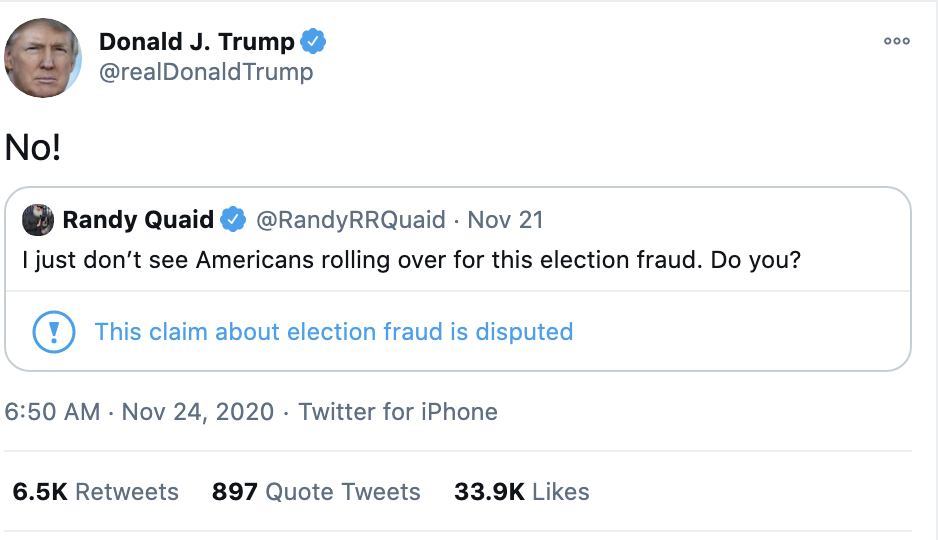 Screen-Shot-2020-11-24-at-7.16.24-AM Trump Demands Election Redo During Pre-Dawn Emotional Breakdown Donald Trump Featured National Security Politics Top Stories