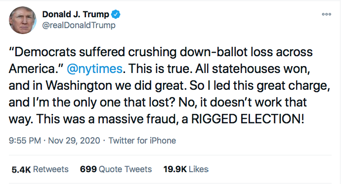 Screen-Shot-2020-11-29-at-10.00.55-PM Trump Has Sunday Night Conniption Fit After Watching '60 Minutes' Conspiracy Theory Donald Trump Election 2020 Featured Politics Top Stories Twitter