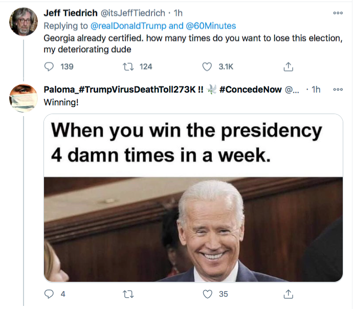 Screen-Shot-2020-11-29-at-9.44.55-PM Trump Has Sunday Night Conniption Fit After Watching '60 Minutes' Conspiracy Theory Donald Trump Election 2020 Featured Politics Top Stories Twitter