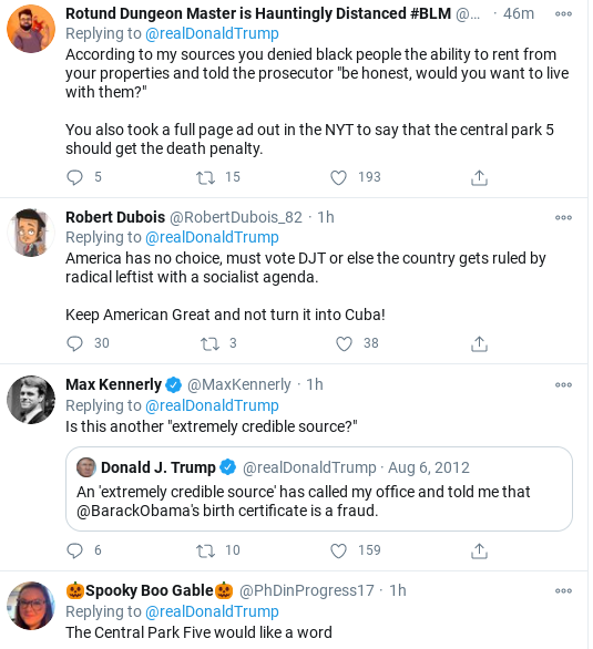 Screenshot-2020-11-01-at-11.49.10-AM Trump Flies Into Mid-Morning Anti-Biden Tirade As Campaign Collapses Donald Trump Election 2020 Politics Social Media Top Stories