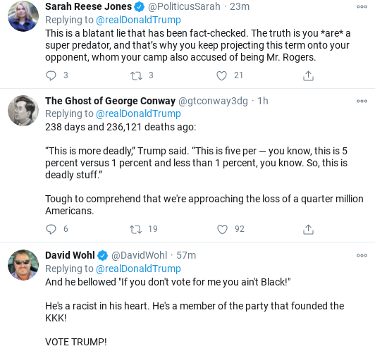 Screenshot-2020-11-01-at-11.49.26-AM Trump Flies Into Mid-Morning Anti-Biden Tirade As Campaign Collapses Donald Trump Election 2020 Politics Social Media Top Stories