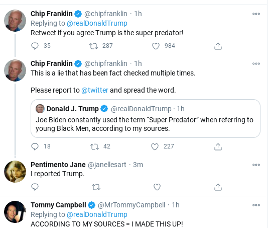 Screenshot-2020-11-01-at-11.49.45-AM Trump Flies Into Mid-Morning Anti-Biden Tirade As Campaign Collapses Donald Trump Election 2020 Politics Social Media Top Stories