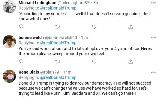 Screenshot-2020-11-01-at-11.51.18-AM Trump Flies Into Mid-Morning Anti-Biden Tirade As Campaign Collapses Donald Trump Election 2020 Politics Social Media Top Stories