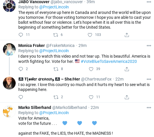 Screenshot-2020-11-02-at-11.28.26-AM 'The Lincoln Project' Hits Trump With Pre-Election Day Stunner Donald Trump Election 2020 Politics Social Media Top Stories