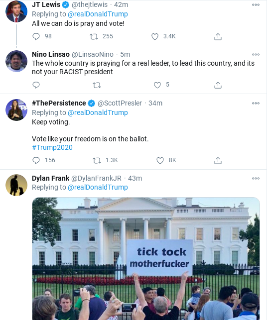 Screenshot-2020-11-03-at-7.00.31-PM Trump Posts Unhinged All-Caps Election Night Twitter Message Donald Trump Election 2020 Politics Top Stories