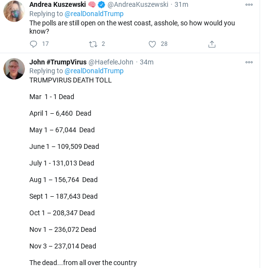 Screenshot-2020-11-03-at-7.00.39-PM Trump Posts Unhinged All-Caps Election Night Twitter Message Donald Trump Election 2020 Politics Top Stories