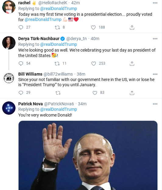 Screenshot-2020-11-03-at-7.01.08-PM Trump Posts Unhinged All-Caps Election Night Twitter Message Donald Trump Election 2020 Politics Top Stories