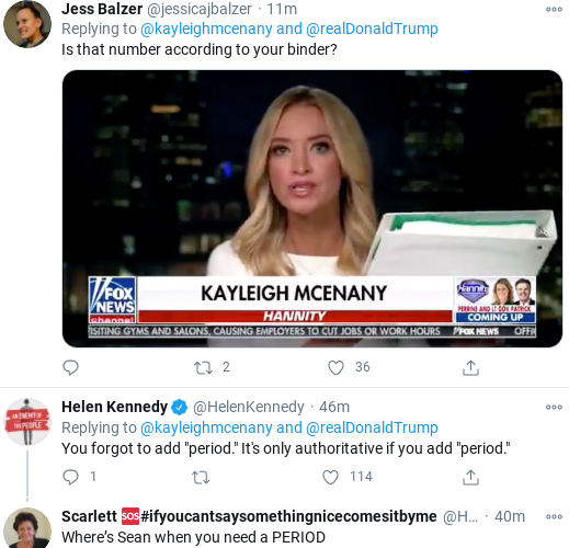 Screenshot-2020-11-14-at-1.08.12-PM Kayleigh McEnany Caught Lying About Crowd Size Of Saturday Trump Rally Donald Trump Election 2020 Politics Social Media Top Stories