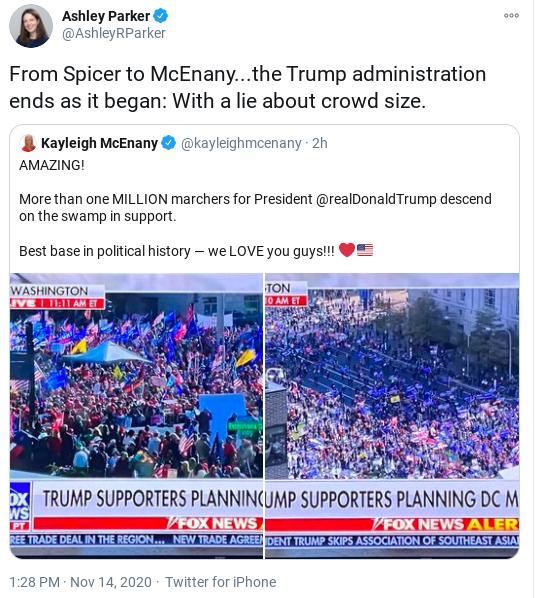 Screenshot-2020-11-14-at-2.05.21-PM Protesters Meet Trump At The Golf Course To Ruin His Saturday Donald Trump Politics Social Media Top Stories