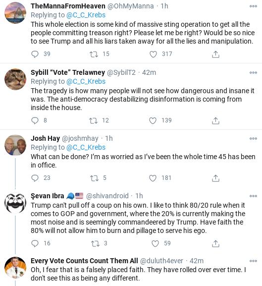 Screenshot-2020-11-19-at-4.38.01-PM Chris Krebs Tweets Instant Rebuttal To Giuliani Press Conference Corruption Donald Trump Election 2020 Politics Social Media Top Stories