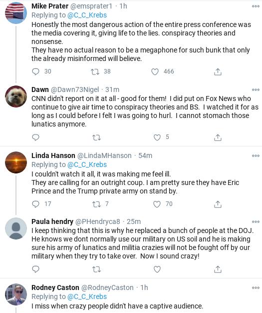 Screenshot-2020-11-19-at-4.38.32-PM Chris Krebs Tweets Instant Rebuttal To Giuliani Press Conference Corruption Donald Trump Election 2020 Politics Social Media Top Stories
