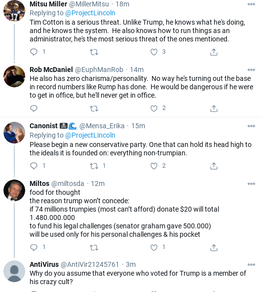 Screenshot-2020-11-22-at-5.21.41-PM 'The Lincoln Project' Burns GOP Cowards In Latest Viral Video Corruption Donald Trump Election 2020 Politics Social Media Top Stories