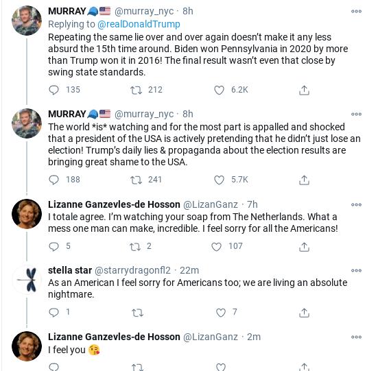 Screenshot-2020-11-28-at-10.29.37-AM Trump Tweets Deranged Weekend Vote Fraud Freak-Out Corruption Donald Trump Election 2020 Politics Social Media Top Stories
