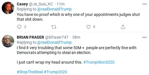 Screenshot-2020-11-28-at-3.53.05-PM Trump Announces 'Massive Proof' Of Fraud During Unhinged Rant Donald Trump Politics Social Media Top Stories