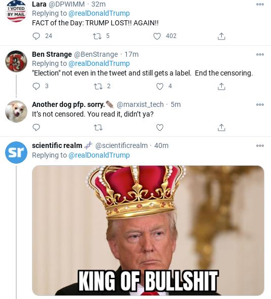 Screenshot-2020-11-28-at-3.53.20-PM Trump Announces 'Massive Proof' Of Fraud During Unhinged Rant Donald Trump Politics Social Media Top Stories