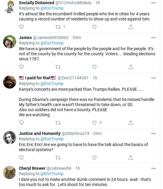 Screenshot-2020-11-30-at-11.44.11-AM Eric Trump Embarrasses Himself Big Time During Monday Meltdown Corruption Donald Trump Election 2020 Politics Social Media Top Stories