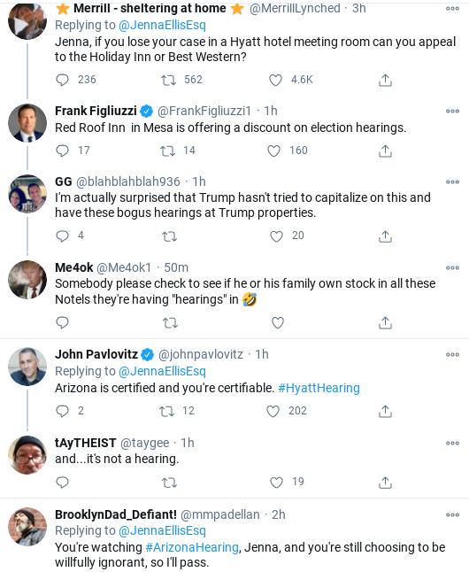 Screenshot-2020-11-30-at-3.56.18-PM Jenna Ellis Has Embarrassing Meltdown Over Arizona Certification Corruption Donald Trump Election 2020 Politics Social Media Top Stories