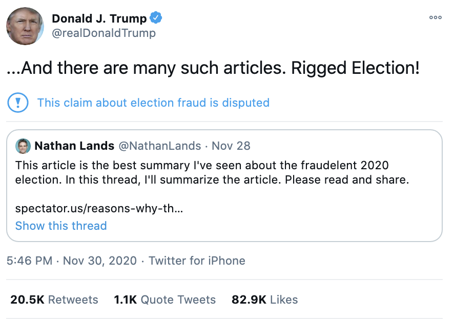 Screen-Shot-2020-12-01-at-7.21.57-AM Trump Throws Childlike Twitter Tantrum Over Arizona Certification Crime Featured National Security Politics Top Stories